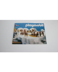 """playmobil Catalog - leaflet - flyer vintage """" front = circus """" 1980 new"""